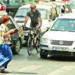 masini si biciclisti