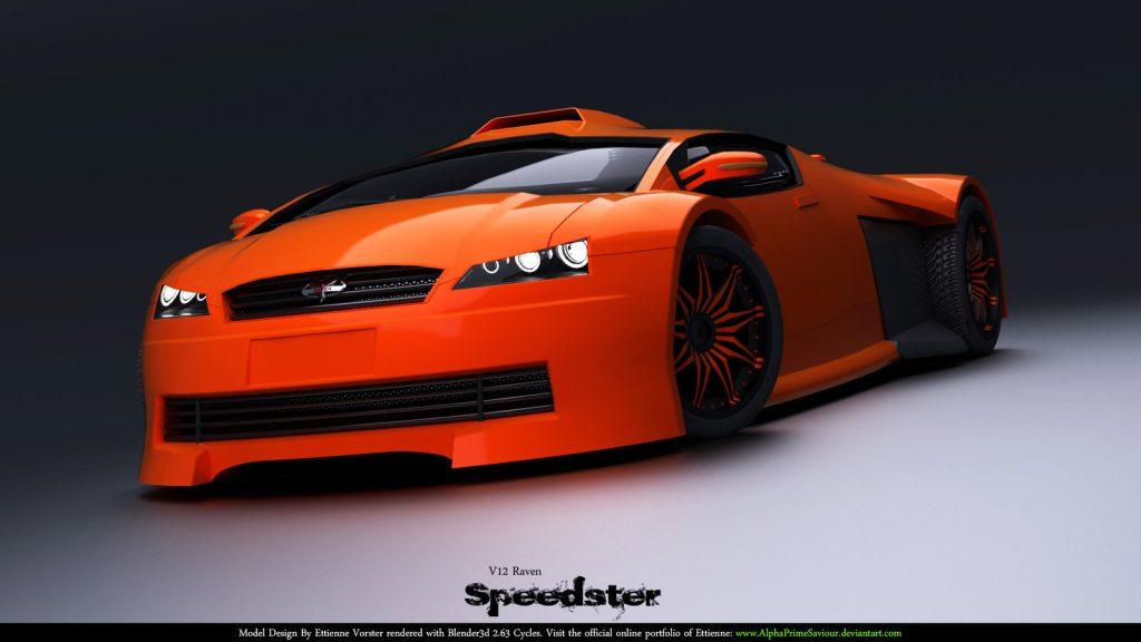 prototip de masina de viteza