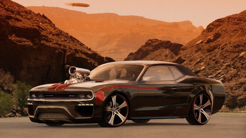 wallpaper cu muscle cars