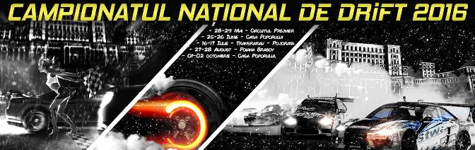 Campionatul National de Drift - E1 - 28-29 mai 2016 Brasov