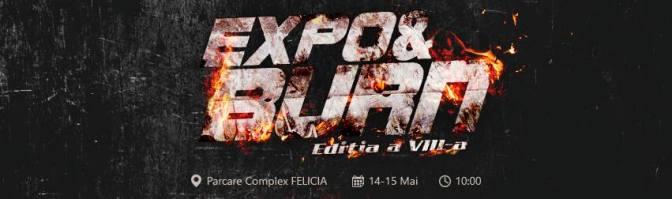 Expo&Burn - Iasi 14-15 mai 2016